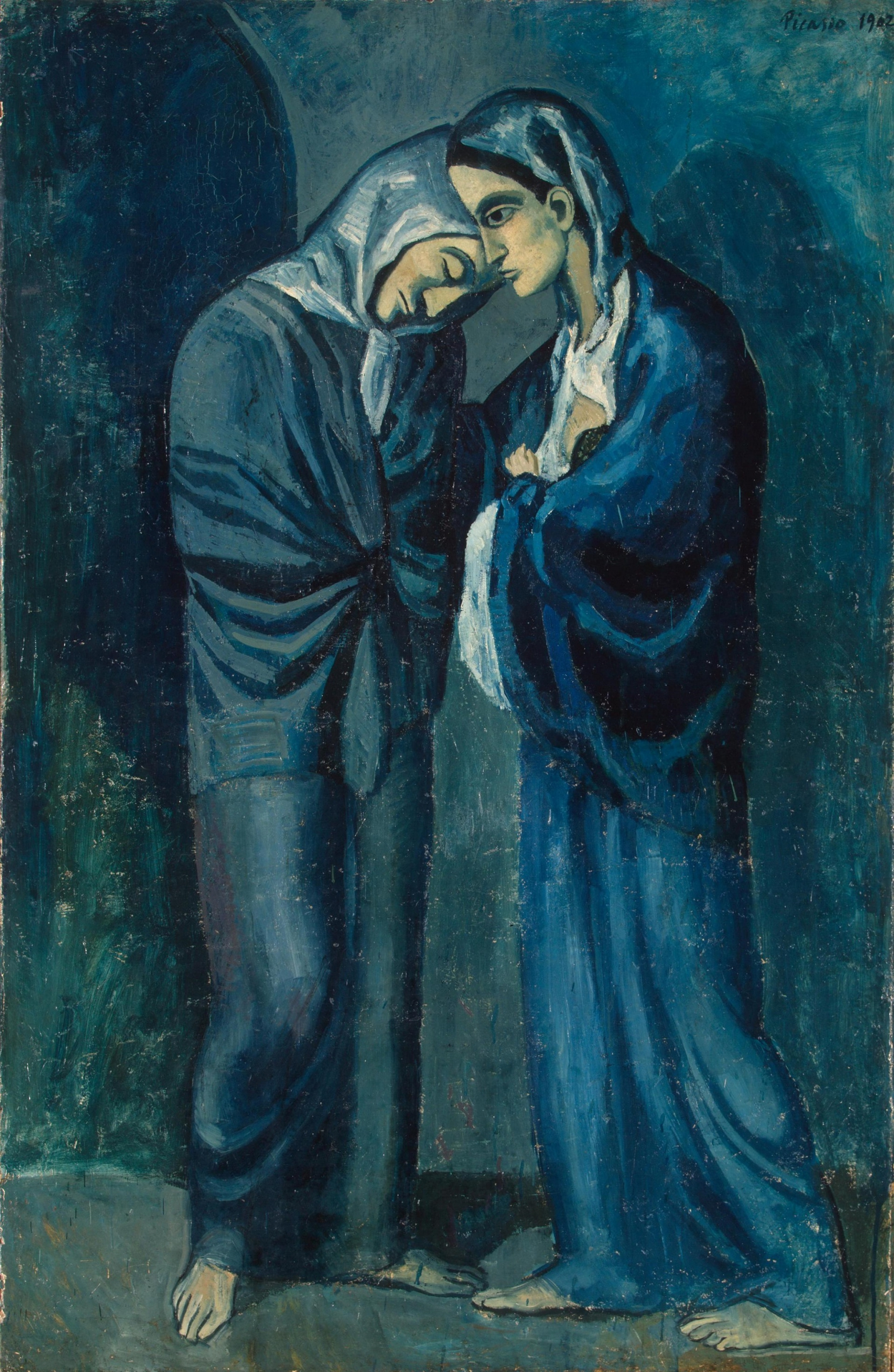 picasso-1902-the-visit-hermitage-st-petersburg