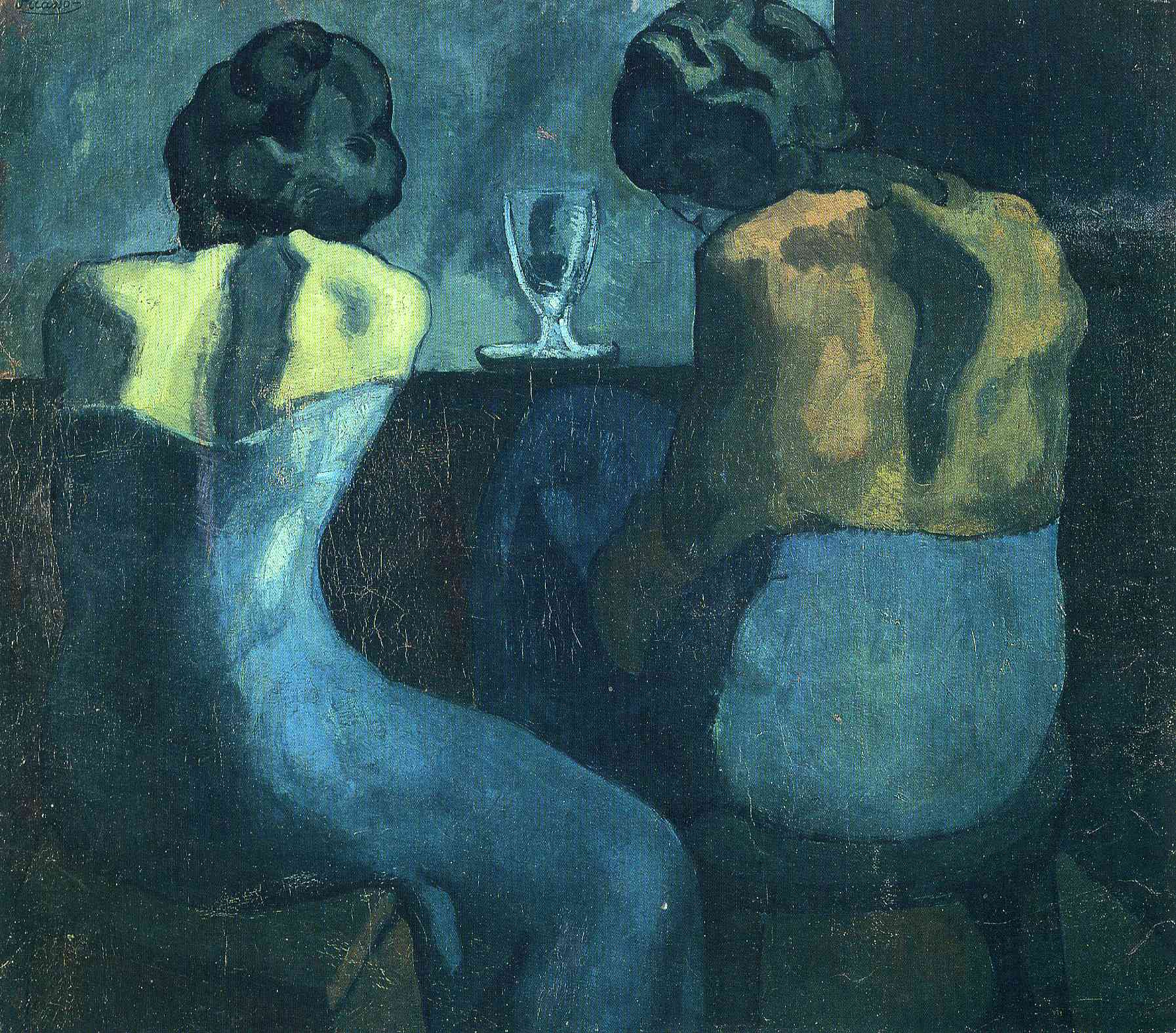 picasso-1902-two-women-sitting-at-a-bar-royal-academy-of-arts-london