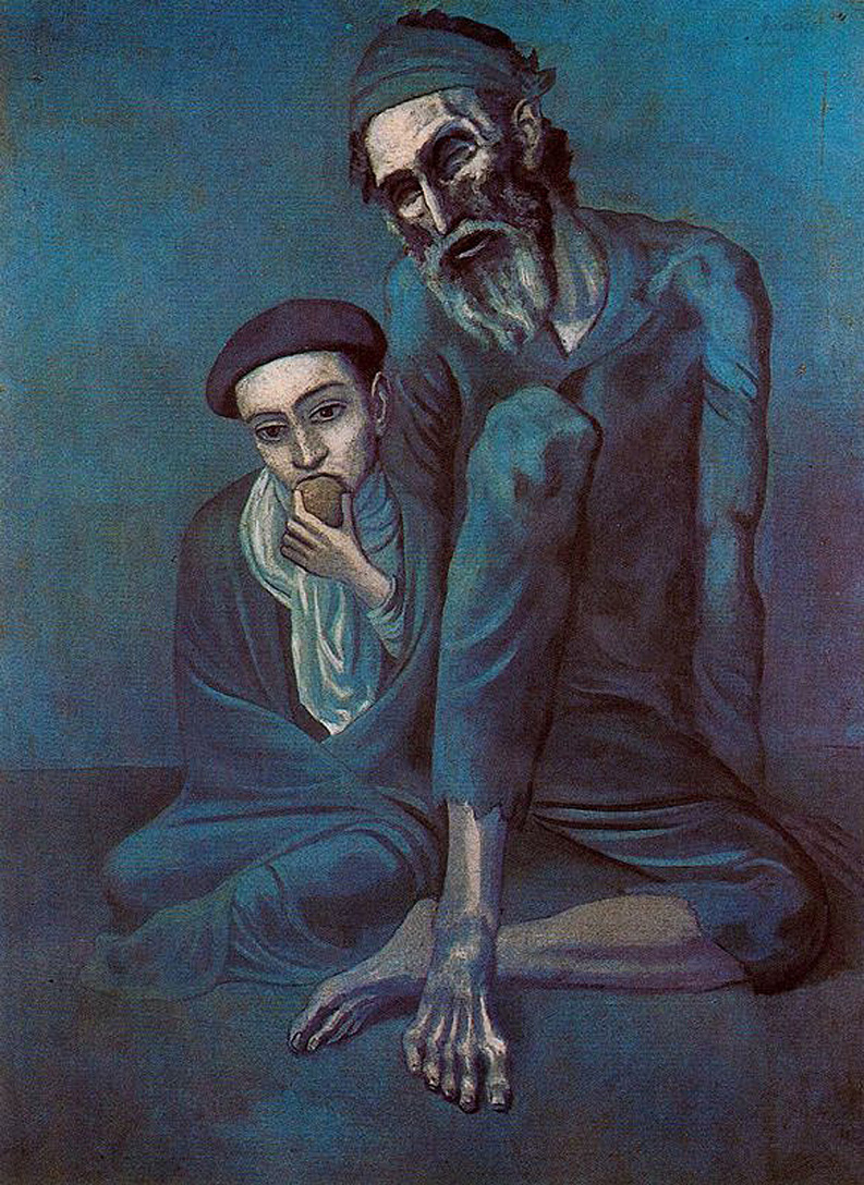 picasso-1903-old-blind-man-with-boy-pushkin-museum-of-fine-art-moscow