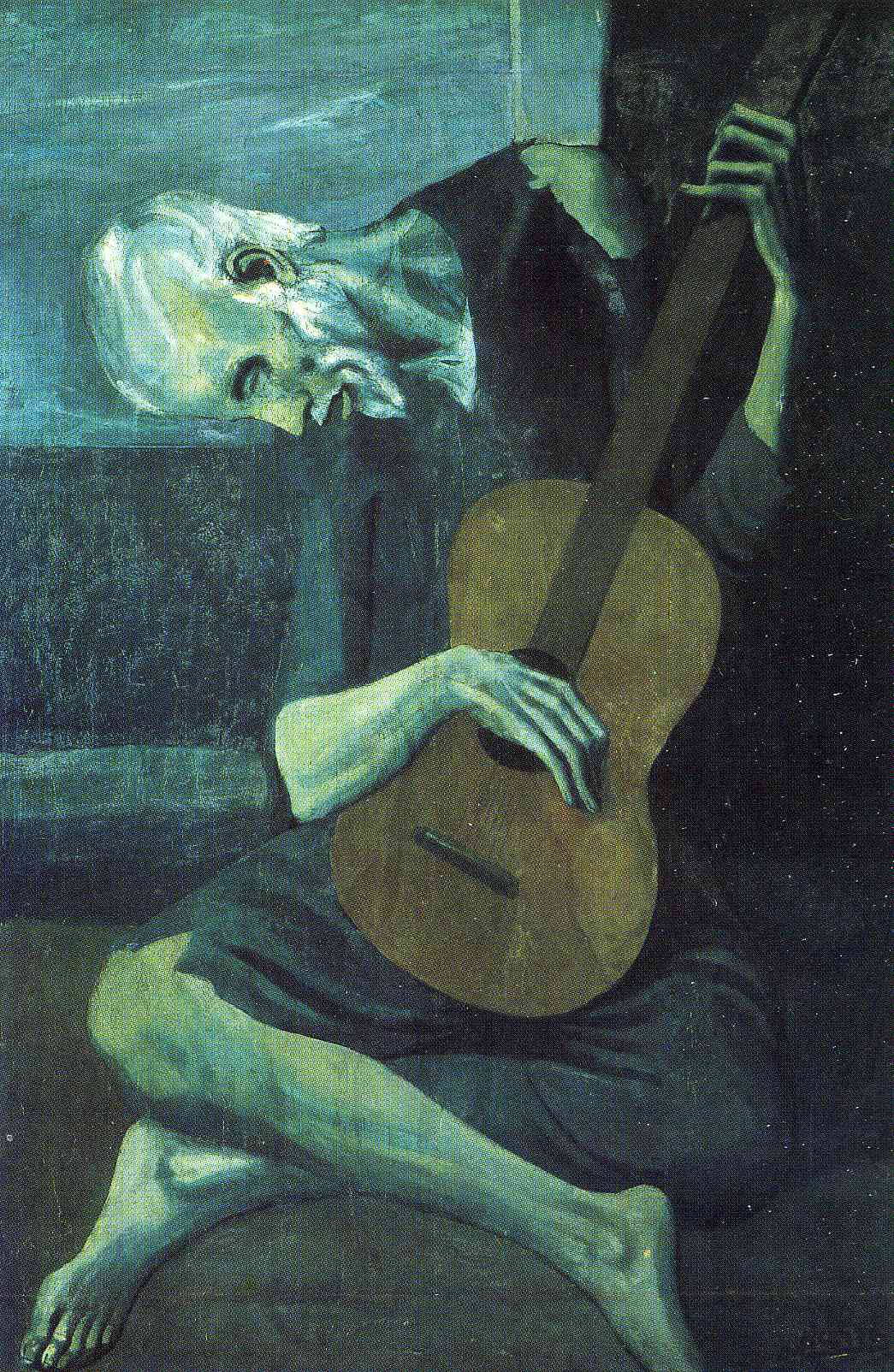 picasso-1903-the-old-blind-guitarist-art-institute-of-chicago