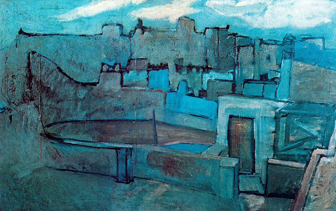 picasso-1903-the-roofs-of-barcelona